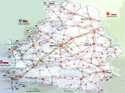 Фото. Карта Беларуси