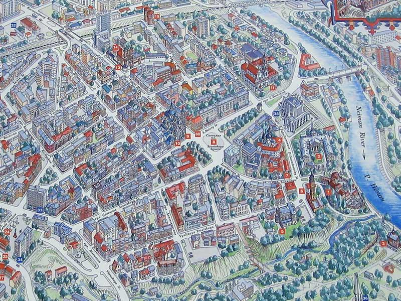 Карта Гродно С Улицами И Номерами Домов Онлайн Со Спутника