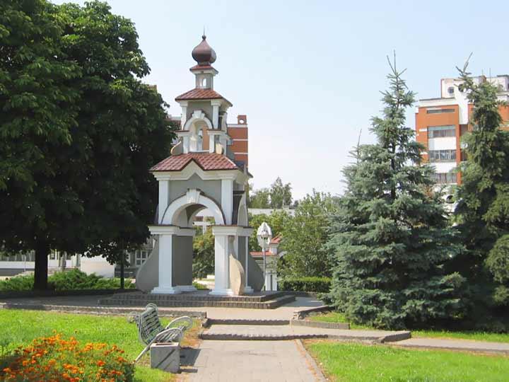 Городские ворота Пинска. Детинец. Пинск. Белорусское полесье - Пинск. Фото. Картинка