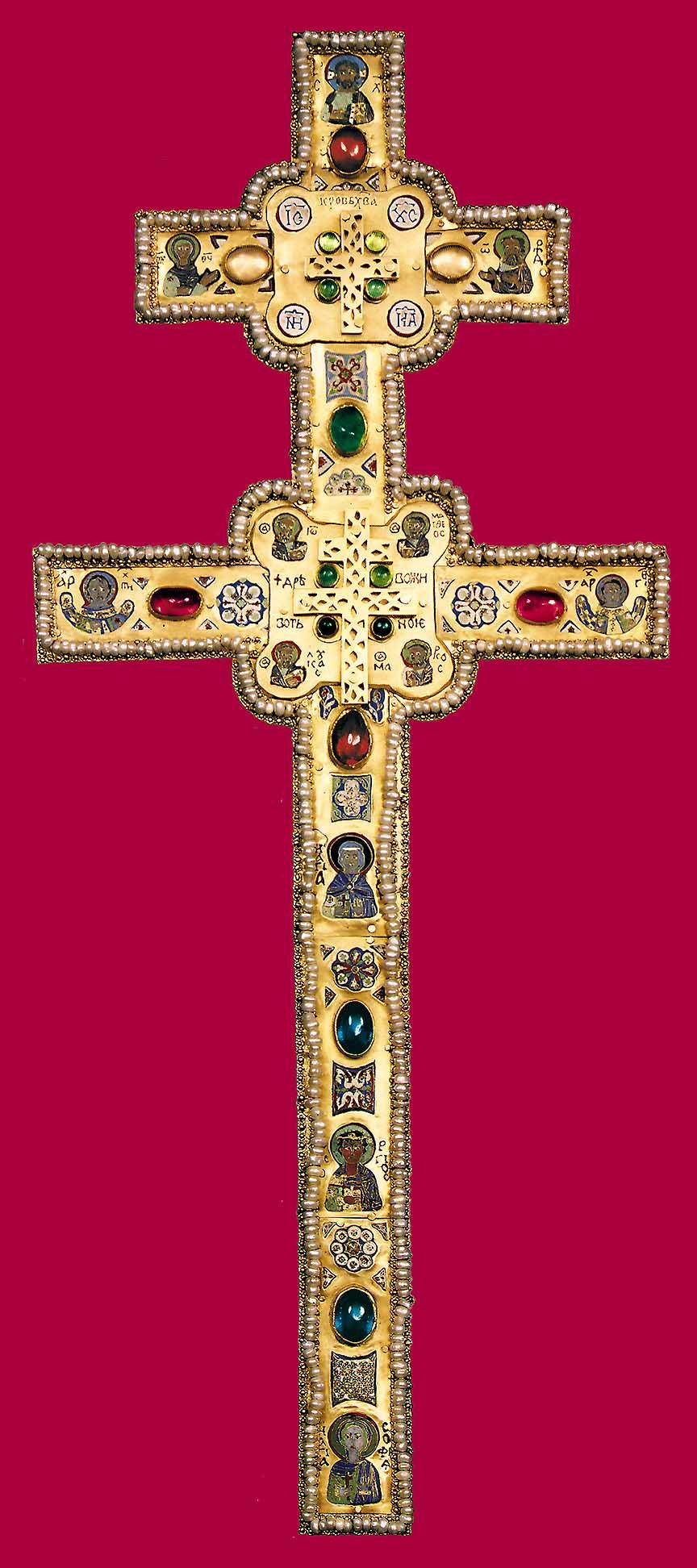 фото крест евфросинии полоцкой