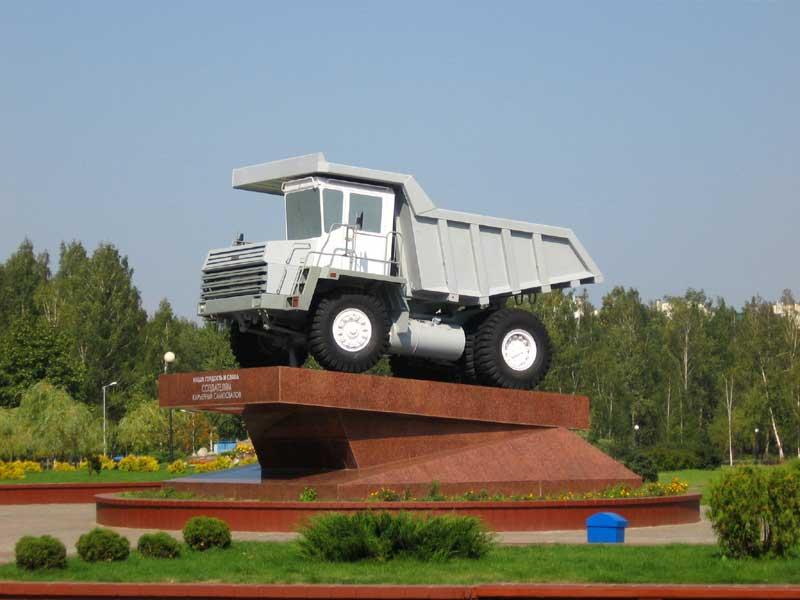 """На ОАО  """"БелАЗ """" реализуется проект по созданию мощностей, а также увеличению объемов производства и..."""